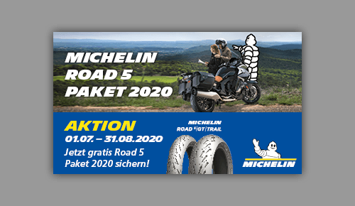 MICHELIN Road 5 Paket